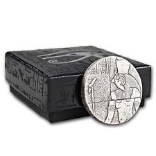 2 oz 1000 Francs Republic of Chad Tschad Horus 999 Silber Feinsilber Silbermünze