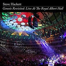 STEVE HACKETT - GENESIS REVISITED: LIVE AT THE ROYAL ALBERT HALL 2 CD + DVD NEU