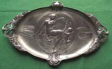 Original Rare c1900 WMF Art Nouveau Venus and Cupid Card Tray