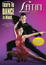 LEARN TO DANCE in minutes LATIN DANCES (DVD) Cal Pozo's how simple learning NEW