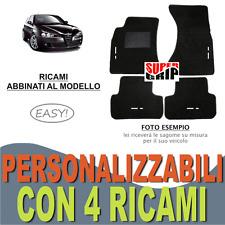 TAPPETINI AUTO SU MISURA PER ALFA ROMEO 147 MOQUETTE FONDO GOMMA + 4 RICAMI EASY