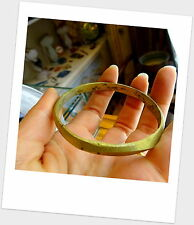 Antique West African Currency Tribal Brass Bangle Bracelet