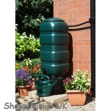 100L Water Butt Garden Rain Green Storage Container Tank Tap Kit Top Choice 6714