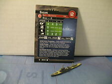 Axis and Allies War at Sea Flank Speed Shigure 38/40