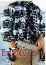Publicité Advertising 1992 Pret à porter Chemise homme Ralph Lauren