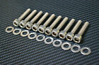 VAUXHALL ASTRA / ZAFIRA VXR CAM COVER STAINLESS STEEL BOLT KIT VXR SRI GSI
