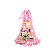 Disney Baby Minnie Mouse Happy 1st Birthday Party Paper Cone Hat