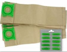 10 X Sacchetti Polvere & Deodoranti Miele per Sebo X4 Extra X1 X1.1 Aspirapolvere Hoover
