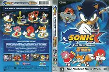 Sonic X - New World Saga (DVD, 2007, 2-Disc Set) NEW!!!