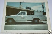 "WOW Vintage Sham's Pizza Delivery Truck Travis Air Force Base 4"" x 3"" Photograph"