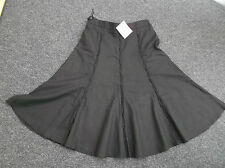 """british home stores"" ladies black skirt size 10 b.n.w.t."