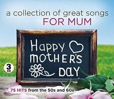 A Collection Of Great Songs For Mum NEW SEALED 3 CD MOTHERS DAY,BIRTHDAY,ANYTIME