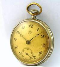 Junghans Germany 38 c/ I mechanische Taschenuhr vintage mechanical pocket watch
