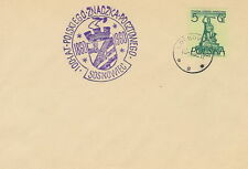 Poland postmark SOSNOWIEC - 100 years Polish stamp (violet !!)