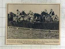 1925 Horses To Compete Grand National, Mainsail, Music Hall, Peter The Piper