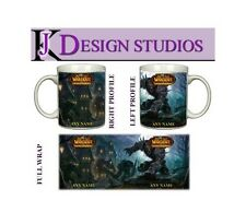 World of Warcraft 3 Personalised Gaming Mug