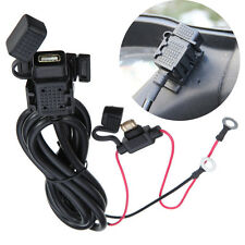 Motorcycle Mobile Phone GPS Waterproof 2.1A USB Power Supply Port Socket Charger