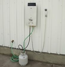 Portable Water Heater Hot Propane Shower Outdoor Camping Lake Instant System RV