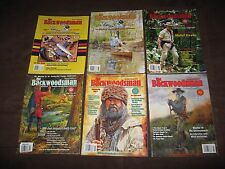 6 ISSUES THE BACKWOODSMAN OF 2010-2015 HOMESTEADING SURVIVALIST PREPPING HISTORY