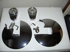 harley road king caliper & rotor covers