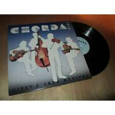 CHORDA TRIO - gipsy's jazz revival - JAZZ MANOUCHE French Lp