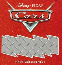 Disney Pixar CARS - Chrome Diamond Check Plate - ONLY $8 - Wallpaper Border 91