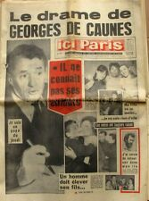 Ici paris n°1077 - 1966 - Georges De Caune - Beatrix et Claus- John Wayne