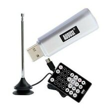 August DVB-T205 USB Freeview TV Tuner-DVB-T Receiver and Recorder Stick for PC