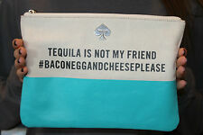 NWOT Kate Spade Tequila Is Not My Friend Gia Pouch Clutch HTF