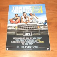 Travis Porter From Day 1 Large 2011 Promo Photo Poster Decal Sticker Window Clin