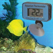 Aquarium Fish Tank Thermometer & Free Battery Underwater Pool Pond Temperature