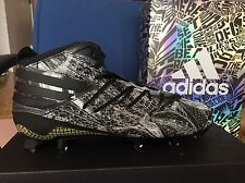 Adidas Freak X Kevlar Football Cleats Sz 8 Black White Grey Snake AQ6849