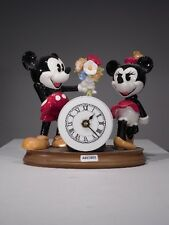+# A003953 Goebel Archivmuster Walt Disney Minnie+Mickey Mouse mit Uhr + Blumen