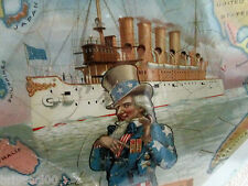 Uncle Sam Prophylactic Toothbrush advertising Pacific Picture Puzzle w/box etc