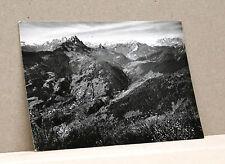 RIGOLATO - Conca della Val Degano [grande, b/n, non viagg.]