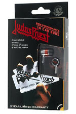 Judas Priest Earbuds In Ear Buds British Steel ipod iphone MP3 Cell NEW FREE SH