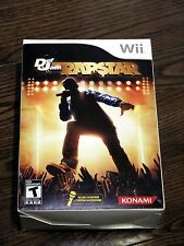 Brand Def Jam Rapstar Game with Microphone Bundle (Nintendo Wii, 2010) Sealed