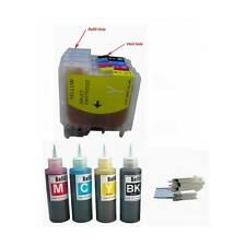 4 NON-OEM Refillable ink Cartridge for Brother LC51 MFC-230C MFC-240C MFC-3360C