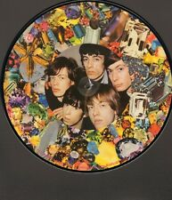 """ROLLING STONES Precious Stones PICTURE DISC 12"""" Inch INTERVIEWS 1965 Airport"""