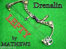 LEFTY  Mathews DRENALIN solo cam  Bow LH    ** SHIP WORLD WIDE*