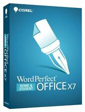 WordPerfect Office X7 Home and Student by Corel Compatible with Microsoft Office