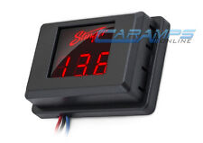 STINGER LED 3 DIGIT RED CAR STEREO VOLT METER BATTERY VOLTAGE DISPLAY MONITOR