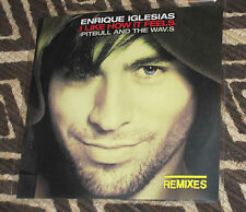 "ENRIQUE IGLESIAS ""I Like How It Feels"" PROMO CD REMIXES Pitbull WAV.S x5"