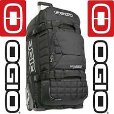 OGIO RIG 9800 CON RUOTE MX Moto-X Motocross Enduro MTB Travel Gear KIT Borsa Nero