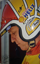 Dick Johnson SIGNED 12x8 Australian Legendary Touring Car Driver & Team Entrant