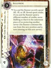 Android Netrunner LCG - 1x Bullfrog  #073 - A Study in Static