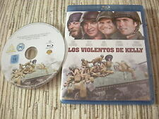 BLU RAY BLURAY PELICULA LOS VIOLENTOS DE KELLY CLINT EASTWOOD USADO BUEN ESTADO