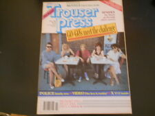 The Go-Go's, Sparks, X, The Motels - Trouser Press Magazine 1982