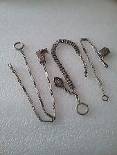 Chaines de montre gousset ( lot de 3 pièces )