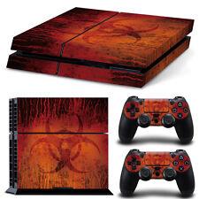 Sony PS4 Playstation 4 Skin Design Aufkleber Schutzfolie Set - Biohazard 3 Motiv